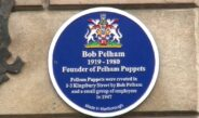 Blue Plaque for Bob Pelham