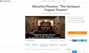 Save the Harlequin Puppet Theatre